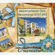 Departamento en Venta en EL DORADO HUEHUETOCA DEPARTAMENTO DOS RECAMARAS $337,000.00