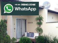 Casa com 2 quartos sendo 1 suíte, em condomínio fechado, em Parnamirim - Villares dos Mares