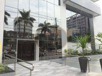 Conjunto comercial para locação, Vila Matias, Santos.