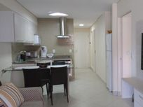 Apartamento para alugar, 2 quartos, Mobiliado, Vista Mar, Com internet / TV a Cabo