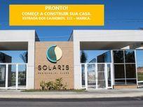 Solaris Residencial Clube - Terreno em Condomínio para Venda em Inoã Maricá-RJ - gm162
