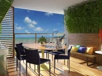 Vendo aptos em prédio na beira mar do cabo branco, com varanda gourmet, 3 qts s/2 sts ou 2 suites + 2 vagas