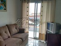 Apartamento no Bairro Vila Caiçara - Praia Grande SP, com 62 m²