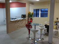 Salão Comercial no bairro do Km 18 - Osasco - SP com 280 m² de área total