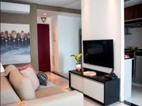 Apartamento para venda com 51m², Brooklin SP.