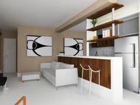 Apartamento com 1 quarto e Salao festas, São Paulo, Vila Nova Conceição, por R$ 7.000