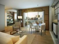 Flat residencial à venda, 60 m², 2 dormit. (1 suíte), 1 vaga, Brooklin Paulista, São Paulo.