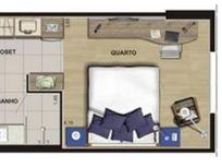Flat residencial à venda, Vila Homero Thon, Santo André - FL0103.
