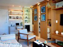Studio residencial à venda, Ponta da Praia, Santos.