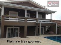 Casa residencial à venda, Alphaville, Santana de Parnaíba - CA0128.