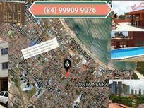 Flat Mobiliado a si 650 netris  da  orla da praia de Ponta Negra, Natal   - FL0045