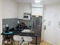 Flat 1 dormitório 1 vaga 28 m² à venda, Consolação, São Paulo.