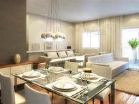 Cobertura em construção 127m² 3 dormitórios, 1 suíte, 2 vagas Bairro Campestre - Santo André
