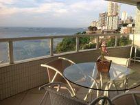 Apartamento LUXO Quarto e Sala, Mobiliado, Vista-Mar para locação, Barra, Salvador.