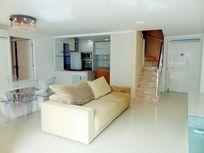 Cobertura duplex com 4 quartos à venda, 143 m², 3 vagas, beira mar - Meireles - Fortaleza/CE