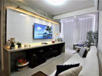 Ed. Petrus apartamento de 2 quartos com suíte e 2 vagas completamente montado e decorado na Praia da Costa Vila Velha-ES - 369