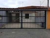 Casa de 2 dormitórios com edícula na Vila Caiçara em Praia Grande