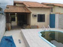 Casa 2Qtos c/piscina e churrasqueira rua asfaltada  Jd. Atlântico Itaipuaçu