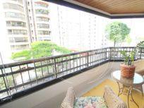 Apartamento com 4 quartos e Suites na AV PAVÃO, São Paulo, Moema