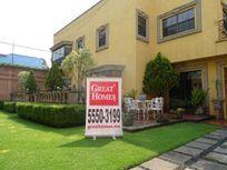Casa con jardín en San Angel