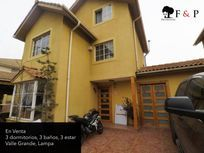 Casa en venta, Valle Grande 3 pisos