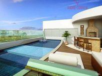 Apartamento residencial à venda, quadra da Praia de Itapoã, Vila Velha.