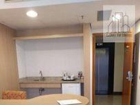 Flat com 1 dormitório à venda, 45 m² por R$ 360.000 - Boqueirão - Santos/SP
