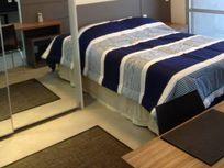 Lindo Apartamento Estilo FLat Para Locação No Campo Belo - 1 Dormitório