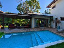 Casa com 4 suítes à venda, 355 m², Porteira fechada, por R$ 2.500.000 - Itacimirim - Camaçari/BA