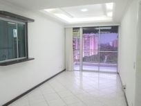 Parque das Rosas - 2 quartos 1 suíte- 2 vagas - 90m² - Semi-mobiliado