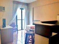 Flat com 1 dormitório à venda, 37 m² por R$ 250.000 - Gonzaga - Santos/SP