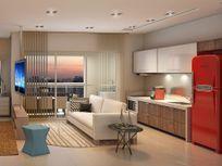 Studio com 1 dormitório à venda, 43 m² por R$ 534.767 - Campo Belo - São Paulo/SP