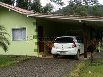 Terreno 10.000m², com casa de alvenaria 70m², no Bomplandt, em Corupá