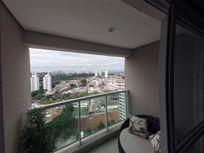 Apartamento mobiliado para venda com 38m² na Chacara Santo Antônio