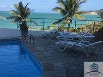 Flat para aluguel com acesso direito a praia, Costeira Flat