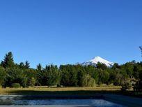 Casa con espectacular vista el volcán, Condominio Alto los Riscos 1, Pucón