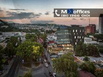 Piso de Oficinas en Venta de  555m2 en Edificio Nuevo en Monterrey.
