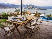 Preciosa Casa en Renta por Noche con Magnifica Vista Al Lago en San Gaspar Valle