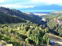Campo en Lago General Carrera con excelente ubicación y vistas!