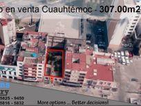 Terreno en venta Cuauhtémoc