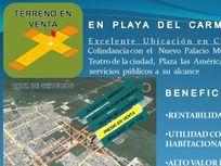 """EXCELENTE TERRENO COMERCIAL - """"CRUZ DE SERVICIOS"""" - PLAYA DEL CARMEN"""