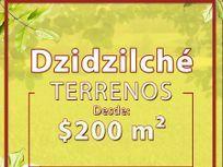 Terreno de 1250mts2 disponible en venta ubicado cerca de Dzidzilché