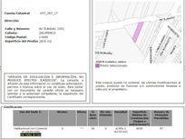 TERRENO PARA 87 DEPTOS (INTERES MEDIO DEPTOS DE $/M2 25,000)