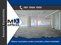 Oficina corporativo acondicionada de 460m2 en renta en Valle Oriente