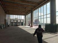 Oficina en obra gris , triple altura, lobby Cuarzo, Reforma CDMX