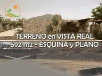 OPORTUNIDAD! Terreno de 592 m2 en VISTA REAL COUNTRY CLUB, Ganelo!