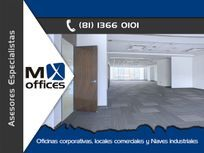 Amplia oficina acondicionada en renta de 404m2 edificio zona San Agustín
