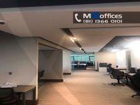 Oficina acondicionada en renta de 210m2  en renta zona Obispado