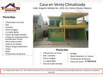 Casa en Venta en Paraiso Centro