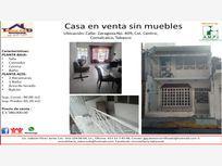 Casa en Venta en Comalcalco Centro